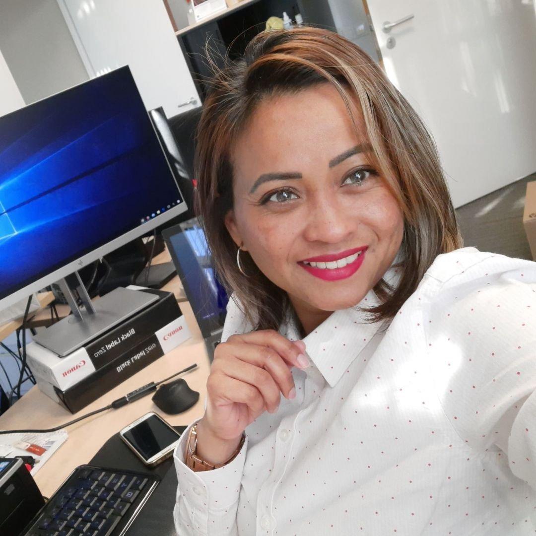 KBenP medewerker Carmelita Ngadiman