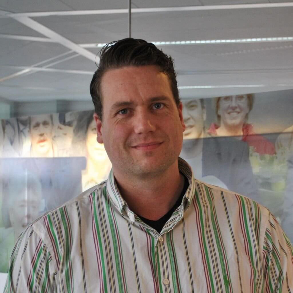 KBenP medewerker Rick Kloor