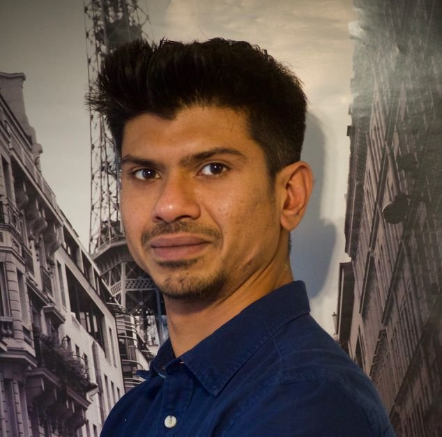 KBenP medewerker Shaafi  Kaja Kamaludeen