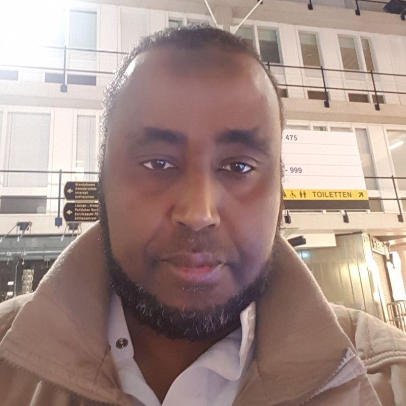KBenP medewerker Ahmed Ali Mohammed