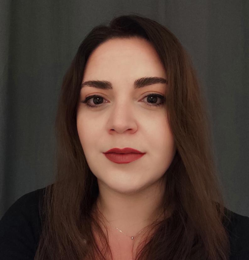 KBenP medewerker Antroula Dimitriou