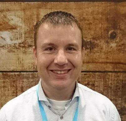 KBenP medewerker Arjan Lieverse