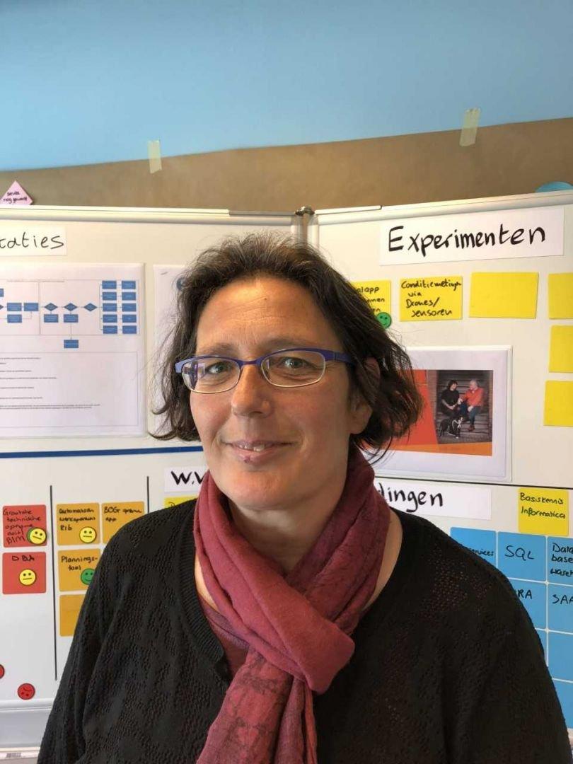 KBenP medewerker Annette  Munter