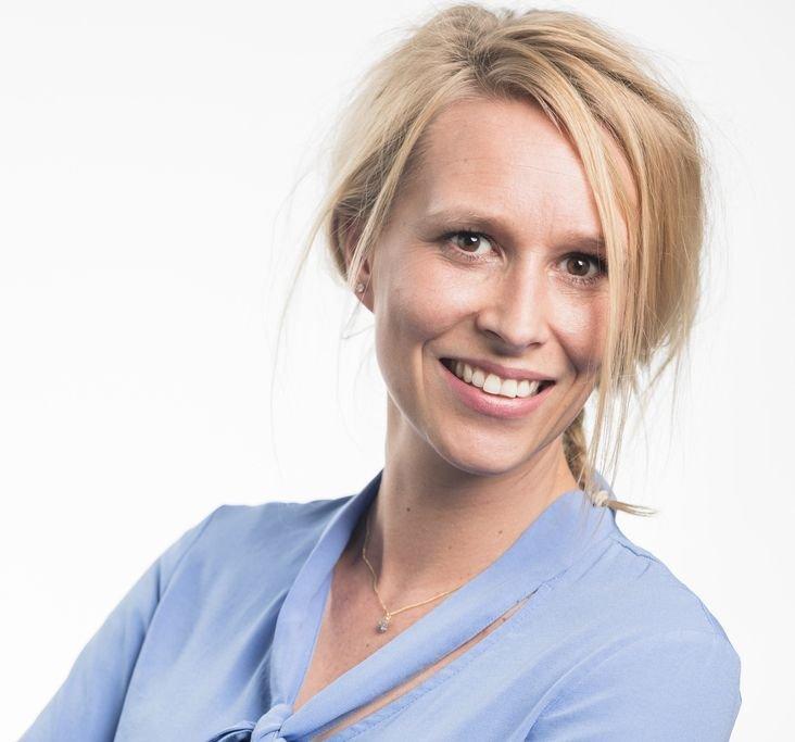 KBenP medewerker Carly Kloos