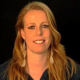 KBenP medewerker Lindsay van Kreel