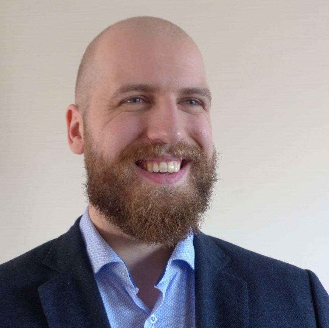 KBenP medewerker Luke Bergwerff